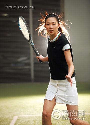 运动时尚派:网球服也时尚