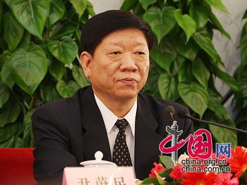 人力資源和社會保障部部長尹蔚民 中國網 胡迪/攝影