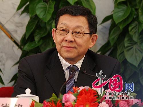 商務部部長陳德銘 中國網 胡迪/攝影