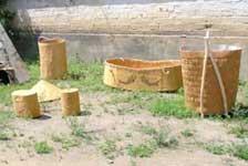 樺皮船及其他樺皮工藝品