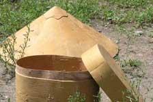帽子和儲物罐