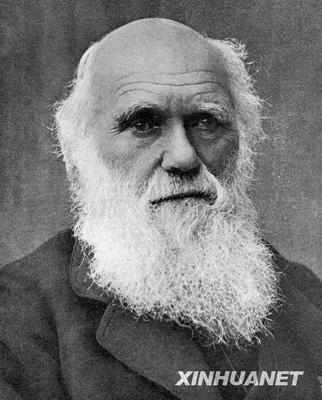 资料图片:达尔文像.1809年2月12日,达尔文诞生.达尔文是...