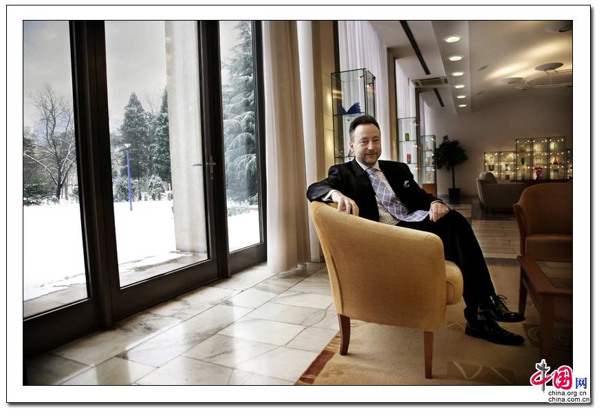 肖像 捷克 大使 人像 摄影
