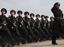 俄舉行衛國戰爭勝利紀念日閱兵綵排[組圖]