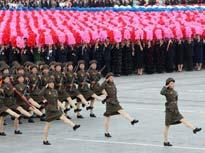 朝鲜阅兵庆祝建国60年[组图]