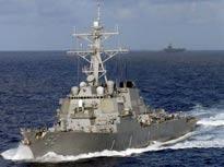 """美国海军""""菲茨杰拉德""""号驱逐舰[图]"""