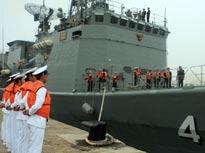 """泰国""""达信""""号导弹护卫舰"""