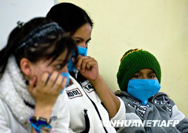 墨西哥暴发流感疫情20人死亡 学校关闭[组图]