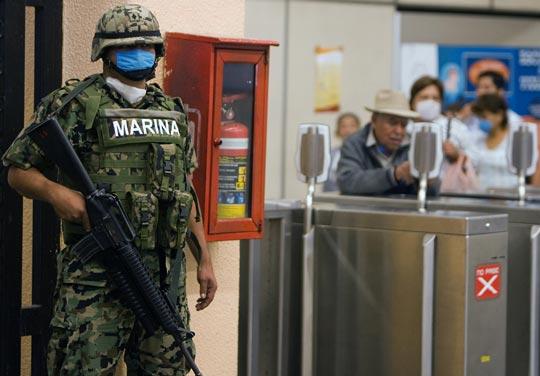 墨西哥出动军队严控猪流感疫情蔓延[组图]