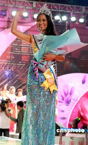 Black Rose 2009全球小姐春城上演泳装秀 组图