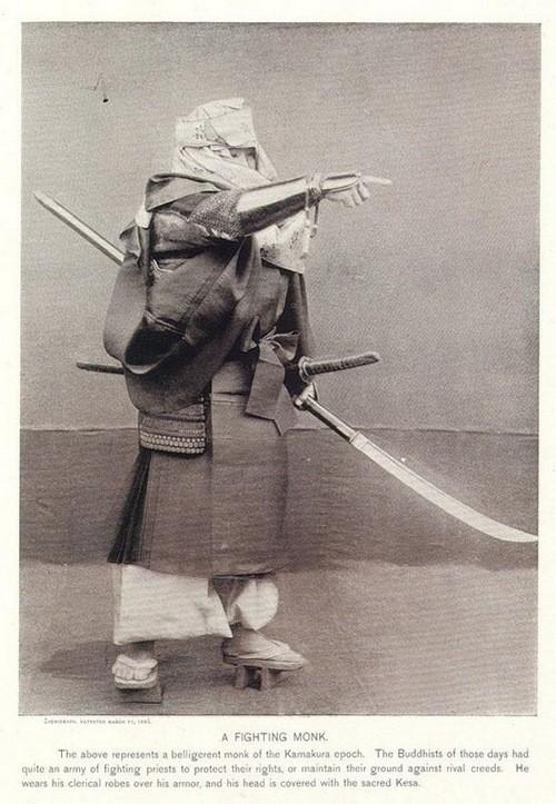 古时旧照 展示真实的日本武士[组图]