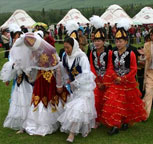 哈萨克族婚礼