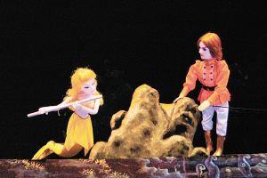 传统木偶分杖头木偶 提线木偶