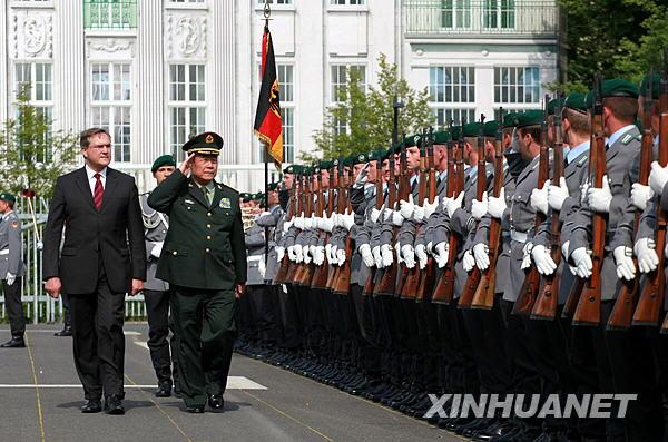 郭伯雄访问德国[组图]_图片中心_中国网