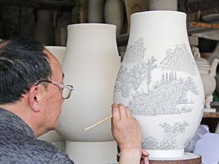 景德鎮古窯:再現300擔松柴燒瓷壯觀場面[組圖]