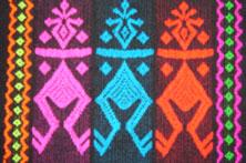 黎族织锦图案