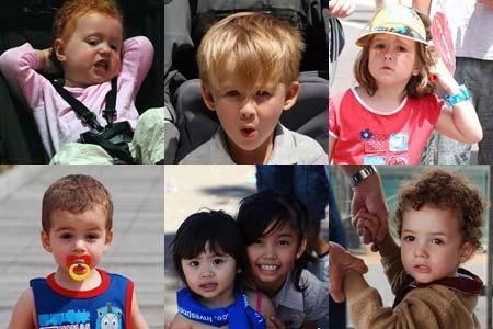 六一节来到 澳大利亚儿童表情趣图街拍[组图]