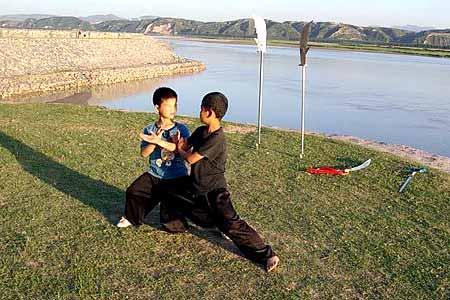 图片中国:太极小子