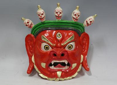 中国美术馆藏面具木偶展
