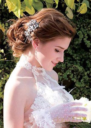 时髦新娘最新欧式宫廷发型