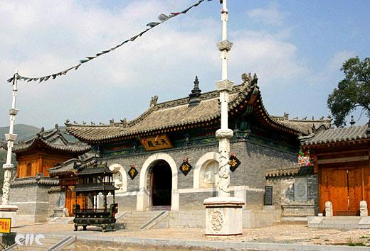 五台山广化寺天王殿 (中国网资料图)