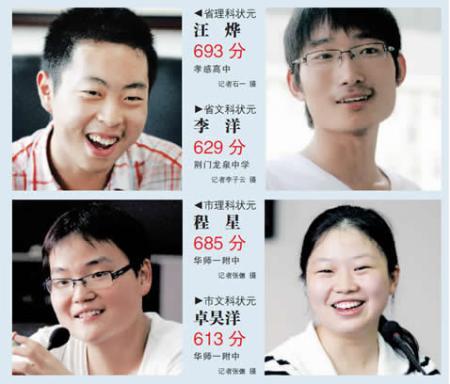 【智慧家长】揭秘高考状元的四大家教秘笈 - 快乐汉 - 快乐汉的教育博客