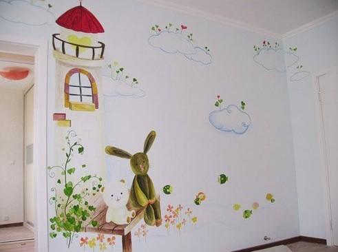 3d手绘墙画-休闲茶楼-轴承论坛-轴承技术