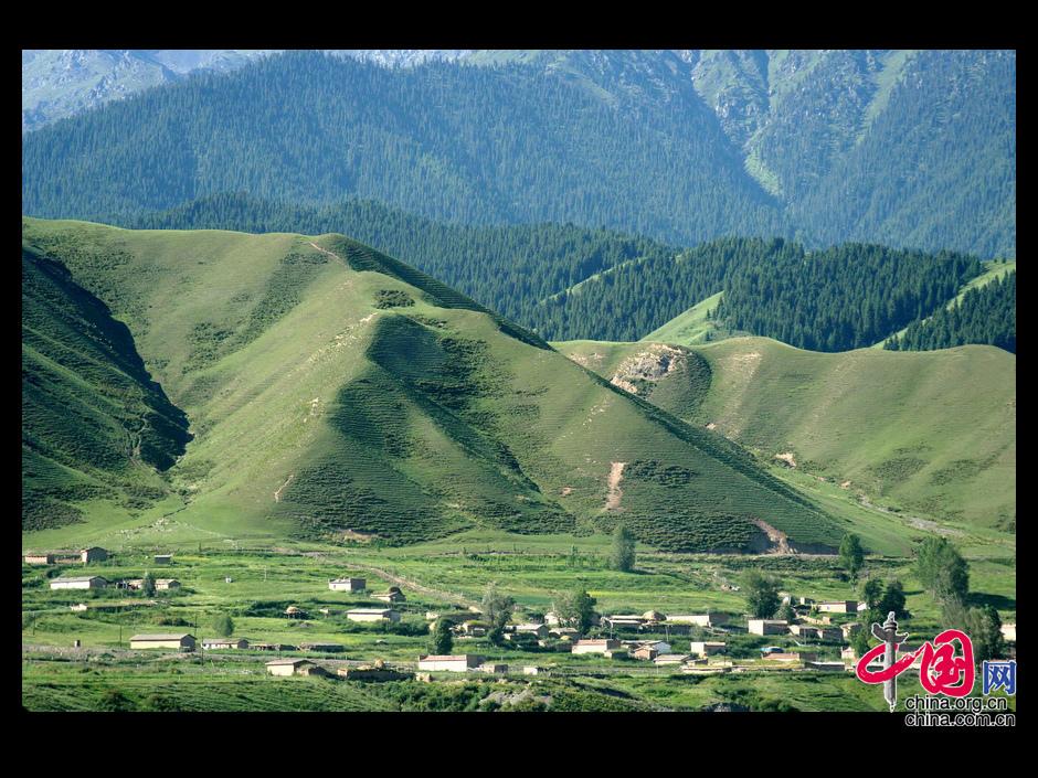 图片中国:美丽的新疆 天山印象 _图片中心_中国网