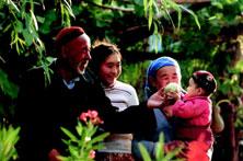 一个塔塔尔族家庭
