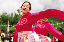 珞巴族妇女