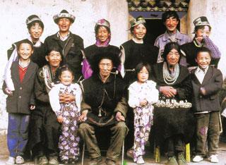 珞巴族人的家庭观念