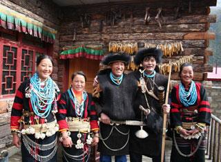 珞巴族人的三个新年
