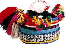 哈尼族童帽