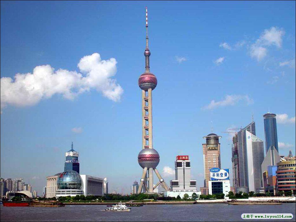 上海 东方明珠塔图片