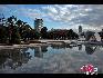 广岛和平纪念公园:1945年8月6日上午8点15分,一颗原子弹在日本广岛上空580米处爆炸,整座城市化为一座人间地狱。广岛和平纪念公园位于广岛市街中心、元安川和本川汇合点的中岛町,是为纪念广岛核爆炸建立的公园,成为人类半个多世纪以来为争取世界和平所取得成就的力量象征。 宋跃平 摄影/文