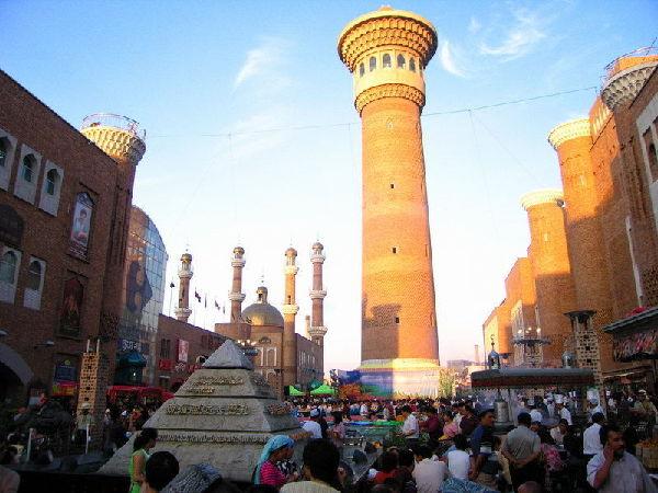 新疆:国际大巴扎