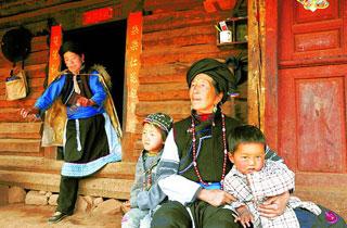 普米族的家庭观念