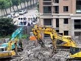 上海倒覆楼房全部拆除完毕[组图]