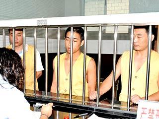 '躲猫猫'案一审宣判 '牢头狱霸'及两民警分获刑[组图]