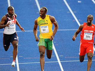 世锦赛:男子100米赛况