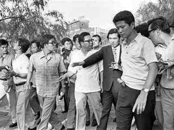 金大中告诉特别调查组最高领导人朴宝英他是怎样回到祖国的.图片图片