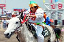 蒙古族赛马