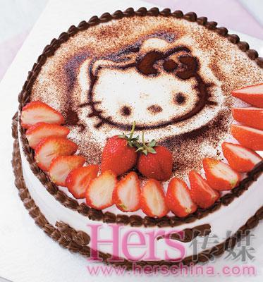 """美食diy:专属于你的""""彩妆""""蛋糕(图)"""