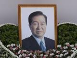 韩国前总统金大中葬礼在首尔举行[组图]