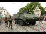 在比利时国庆阅兵式上,步兵小队.(图片由比利时驻华使馆提供)
