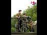 在比利时国庆阅兵式上,防空编队。(图片由比利时驻华使馆提供)