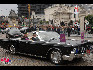在比利时国庆阅兵式上,国王车队到达。(图片由比利时驻华使馆提供)