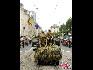 在比利时国庆阅兵式上,这是侦查编队。(图片由比利时驻华使馆提供)