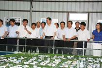 省長羅志軍來大豐港調研沿海開發工作