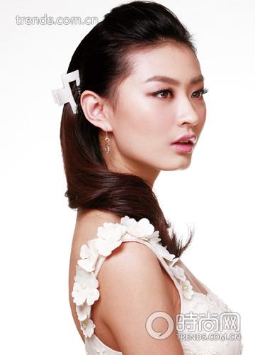 2013最流行的新娘发型 2 发型网